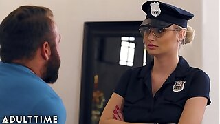 Caught Fapping - Officer Natalia Starr Caught Him With his Horseshit Out