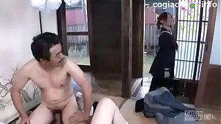 Japanese poor family