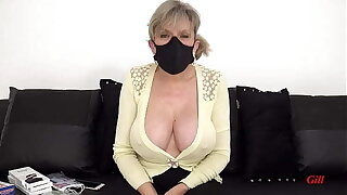 Lady Sonia Modeling her Covid Face Masks