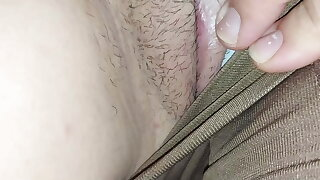 Bonking my stepdad at home, he likes my big pussy