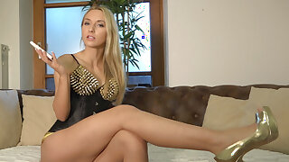 German Femdom JOI: Cum as A often as A you can