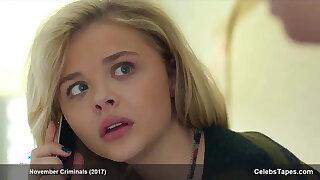 Chloe Grace Moretz hot, sexy and cute, deterrent zero skin