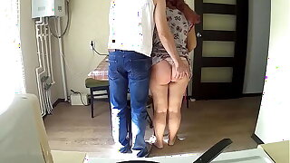 Stepmother misdesignated her son to dinner together with more him a blowjob together with sex