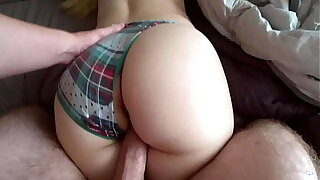 The Step Breast-feed asked her Step Brother to wake her in the morning with a fuck